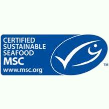 J.P. Klausen supplies 100% MSC certified products in the Benelux.